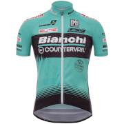 Santini TX Active Bianchi 17 Jersey - Blue