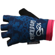 Santini Giro d'Italia 2017 Stage 1 Sardinia Race Gloves - Blue