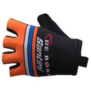 Santini De Rosa 17 Race Gloves - Black