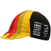 Santini Cinelli Chrome 17 Race Cap - Yellow/Black