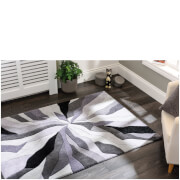 Flair Infinite Splinter Rug - Grey