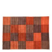 Flair Infinite Inspire Rug - Squared Rust/Chocolate