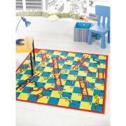 Flair Matrix Kiddy Rug - Snake And Ladder Multi