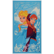 Flair Matrix Disney Rug - Frozen Blue