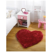 Flair Splendour Kiddy Rug - Cupid Bright Pink (75X75)