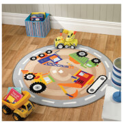 Tapis Matrix Kiddy Flair Rugs - Travaux (133X133)
