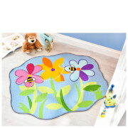 Tapis Matrix Kiddy Flair Rugs - Lit de Fleurs (100X120)
