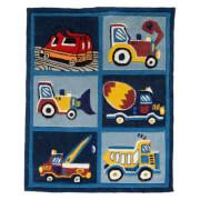 Flair Kiddy Play Rug - Trucks Boy (80X100)