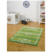 Tapis Flair Kiddy Play Rugs - Terrain de Football (110X160)