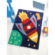 Flair Kiddy Play Rug - Rocket Multi (70X100)