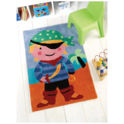 Flair Kiddy Play Rug - Pirate Multi (70X100)