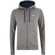 Le Shark Men's Frampton Zip Through Hoody - Dark Gull Grey