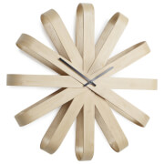Umbra Ribbonwood Wall Clock - Natural