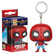 Spider-Man Homemade suit Porte-clés Pocket Pop!