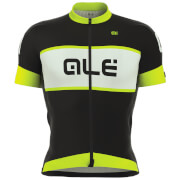 Alé R-EV1 Master Jersey - Black/White/Yellow