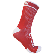 Alé Power 15cm Cuff Cycling Socks - Red/White