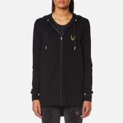 Lucas Hugh Women's Halo Hooded Sweatshirt - Black - L - Black