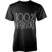Image of 100 Percent Herbivore T-Shirt - Black - L