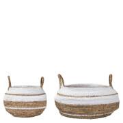 Bloomingville Raffia Baskets - Set of 2