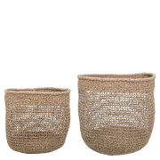 Bloomingville Seagrass Baskets - Set of 2