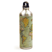 Man of the World Aluminium Water Bottle 750ml - Silver