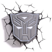Image of Transformers 3D Autobot Shield Wall Light