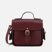 The Cambridge Satchel Company Women's Traveller Bag with Side Pockets - Oxblood