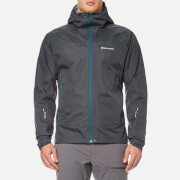 Montane Men's Atomic Rain Shell Jacket - Shadow/Zanskar Blue