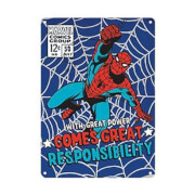 Spider Man A5 Tin Sign