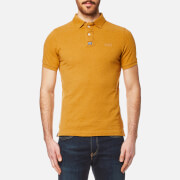 Superdry Men's Classic Pique Polo Shirt - Yellow Oxide Marl