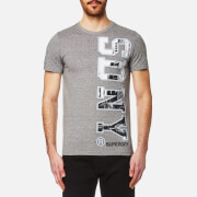 Superdry Men's Sdny T-Shirt - Phoenix Grey Grit