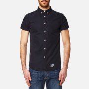 Superdry Men's Ultimate Oxford Short Sleeve Shirt - Harper Navy