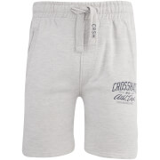Crosshatch Men's Digs Jog Shorts - Grey Marl