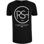T-Shirt Homme Mumbles Logo Crosshatch -Noir