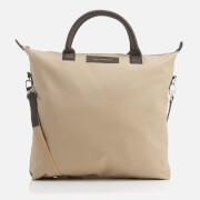 WANT Les Essentiels de la Vie Men's OHare Shopper Tote Bag - Sand/Mahogany