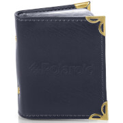 Polaroid Leatherette Photo Album (For 2x3 Inch Film/Paper) - Blue