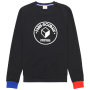 Le Coq Sportif Paris Roubaix Crew Sweatshirt - Blue/Red