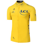 Le Coq Sportif Tour de France 2017 Leaders Official Premium Jersey - Yellow