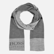 BOSS Green Men's Knitted Scarf - Multi
