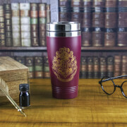 Harry Potter Hogwarts Travel Mug - Burgundy
