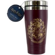 Harry Potter Hogwarts Travel Mug - Burgundy