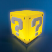 Nintendo Super Mario Mini Question Block Light - Yellow