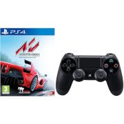 Manette DualShock 4 Assetto Corsa avec Sony PlayStation 4 -Noir
