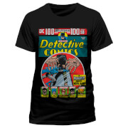 DC Comics Men's Batman Detective Comics T-Shirt - Black
