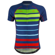 PBK Primal Bright Stripes Jerseys - Blue/Green/Red