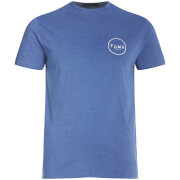 T-Shirt Homme Cresent Friend or Faux -Bleu