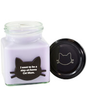 I Want To Be A Stay At Home Cat Mum Crazy Cat Candle