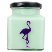 Asian Pear and Plum Flamingo Candle