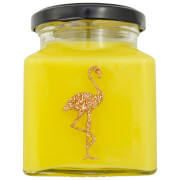 Crème Brulee Flamingo Candle
