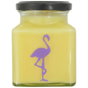 Lemon Curd Flamingo Candle